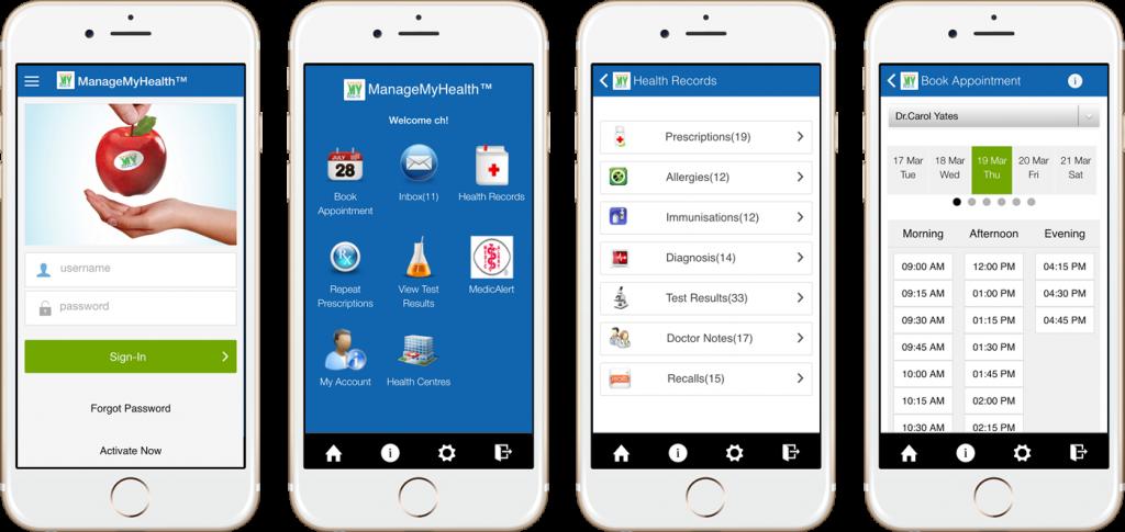 ManageMyHealth Mobile App