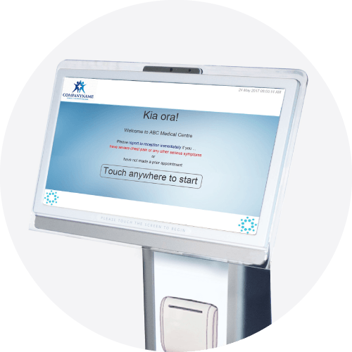 Medtech Kiosk - Patients and Practice Efficiency Solution