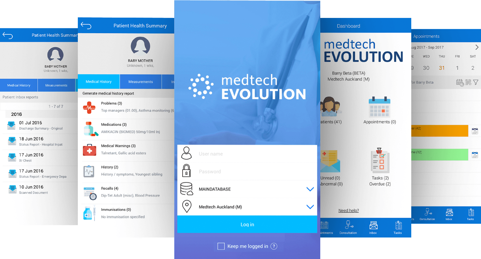 Medtech Evolution Mobile App